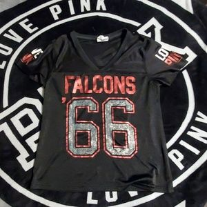 Vs pink Falcons Jersey so m